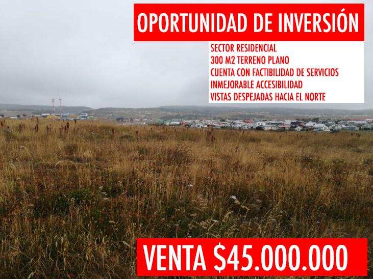 Se vende terreno céntrico en Punta Arenas