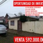 Se vende casa en Barrio Croata Punta Arenas